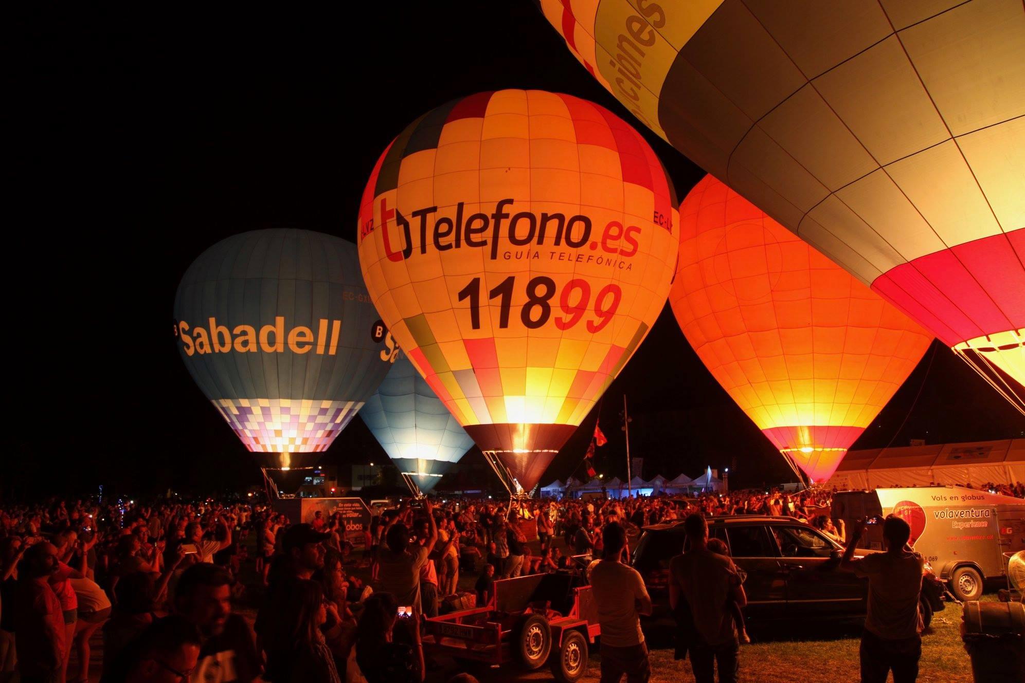 Contratar globo cautivo para eventos
