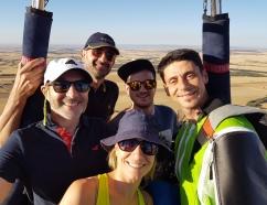 Una de las mejores experiencias que puede vivir un grupo de amigos es las de un viaje en globo