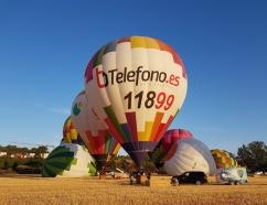 Globo publicitario 11899, información Telefónica, globos.es