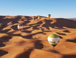 Vuelo en globo por las dunas