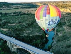 Volando sobre el río Alcanadre
