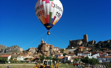 Vuelo cautivo zona Huesca