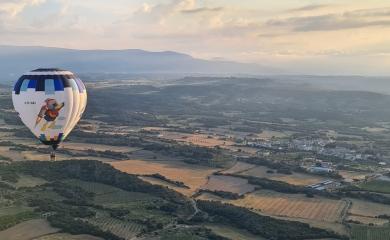 Vuelos en globo Huesca Hoya
