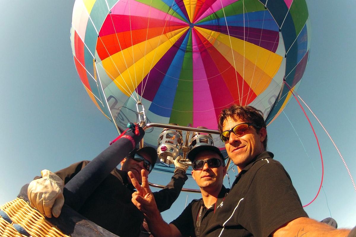 Vuelo en globo en Huesca
