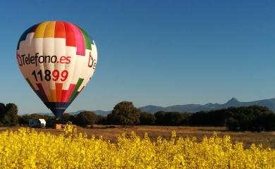 Globo aerostático zona Huesca