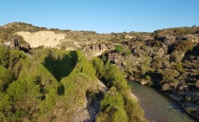 Primavera en globo en el Alcanadre, una experiencia inigualable