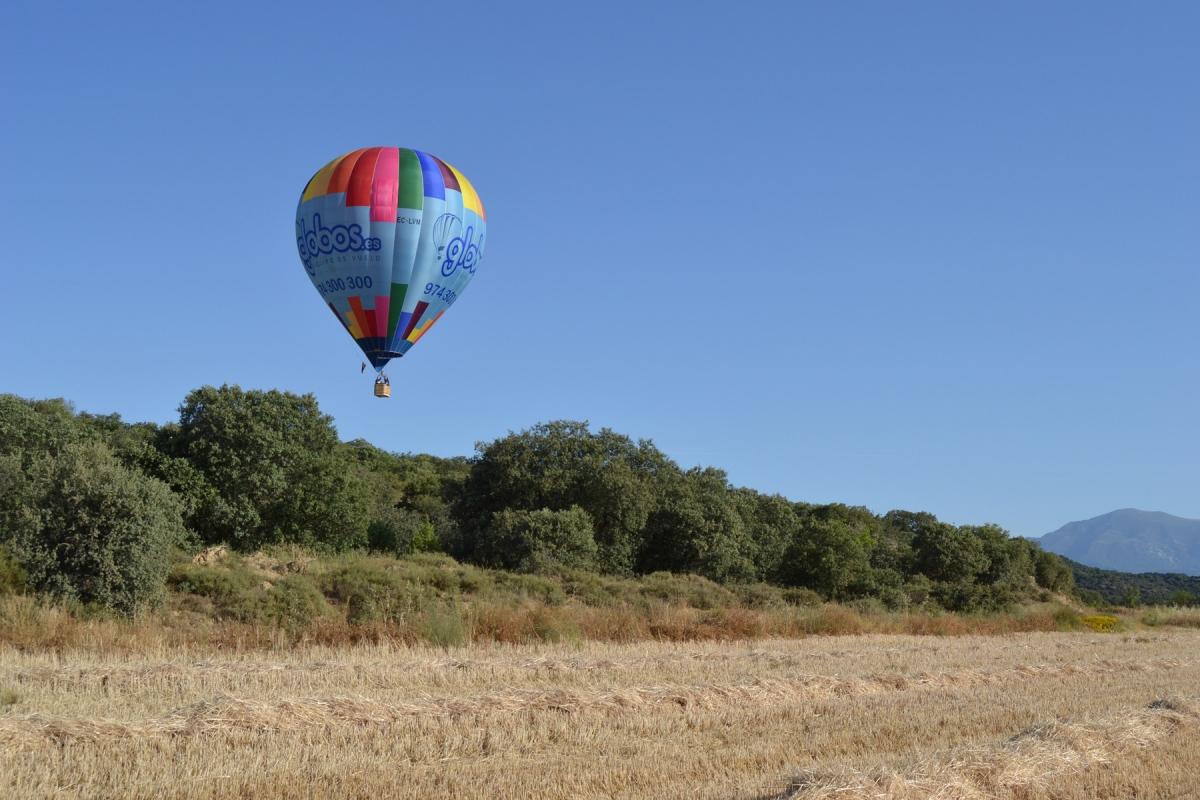 Huesca en globo aerostático
