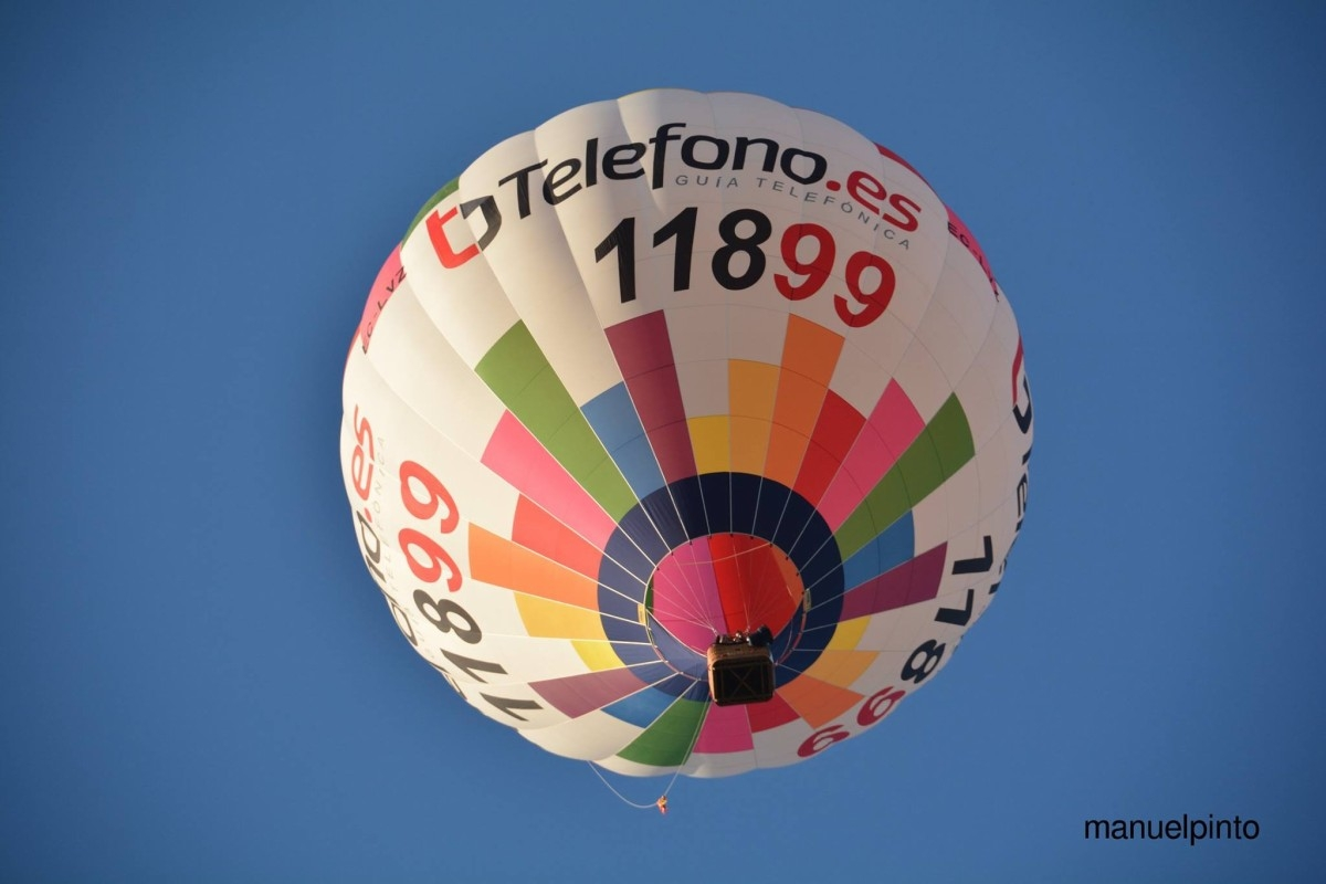 Vuelo en globo en la provincia de Huesca